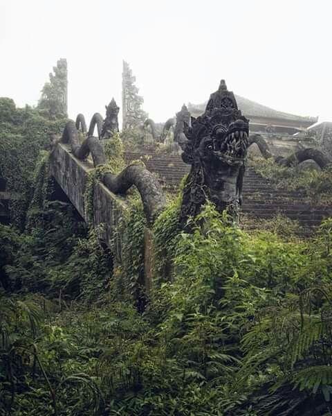 Ancient Temple Ruins @ Pura Lempuyang, Bali, Indonesia