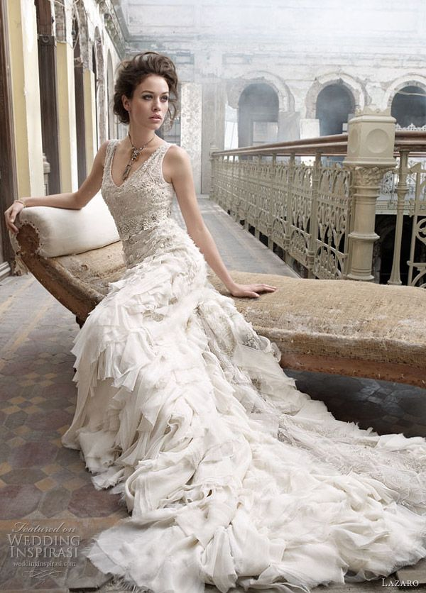 95954e5f1066 1000 images about lazaro wedding dresses on pinterest lazaro wedding dress  lazaro bridal and bridal gowns