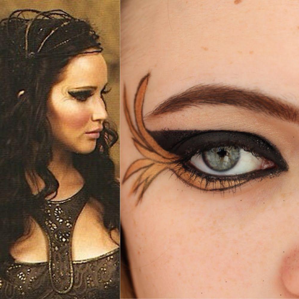 Katniss Everdeen Catching Fire Tribute Parade Makeup ...