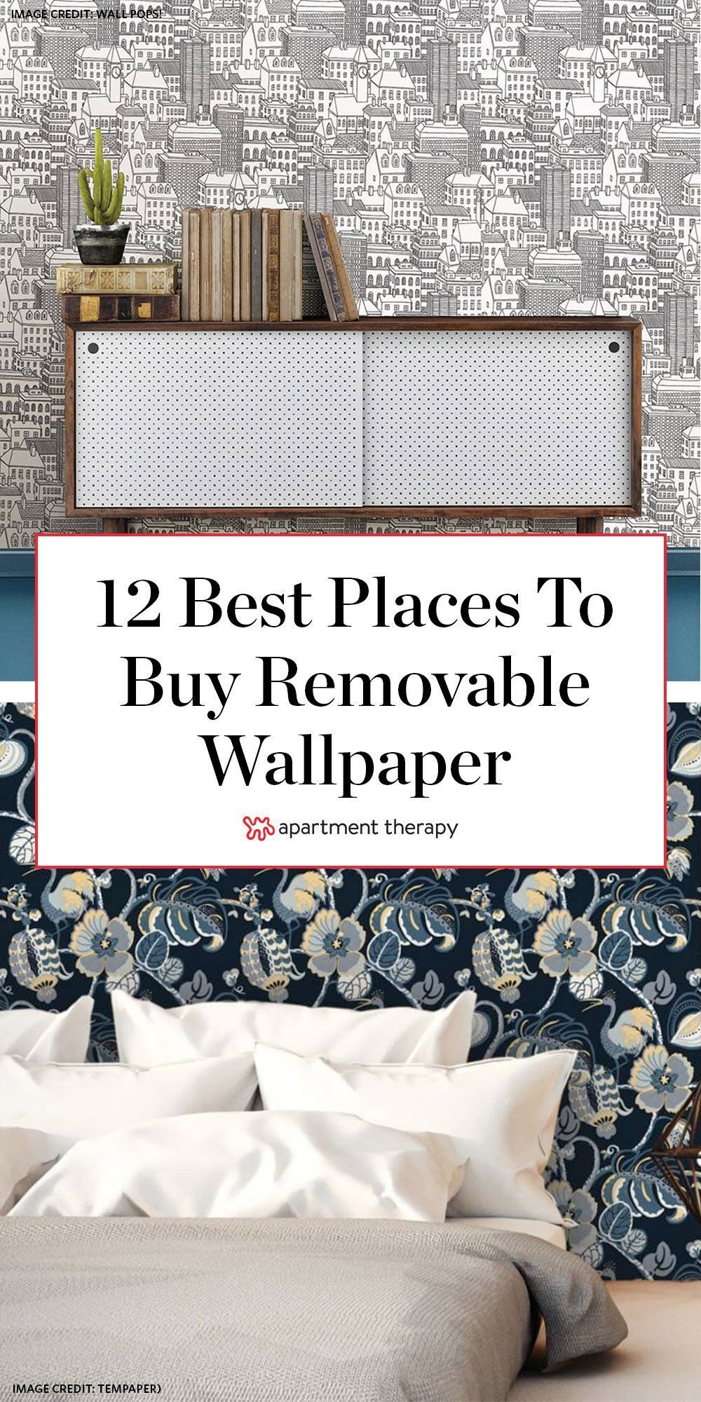15 Removable Wallpaper Companies To Know In 2020 Removable Wallpaper For Renters Wallpaper Companies Home Decor
