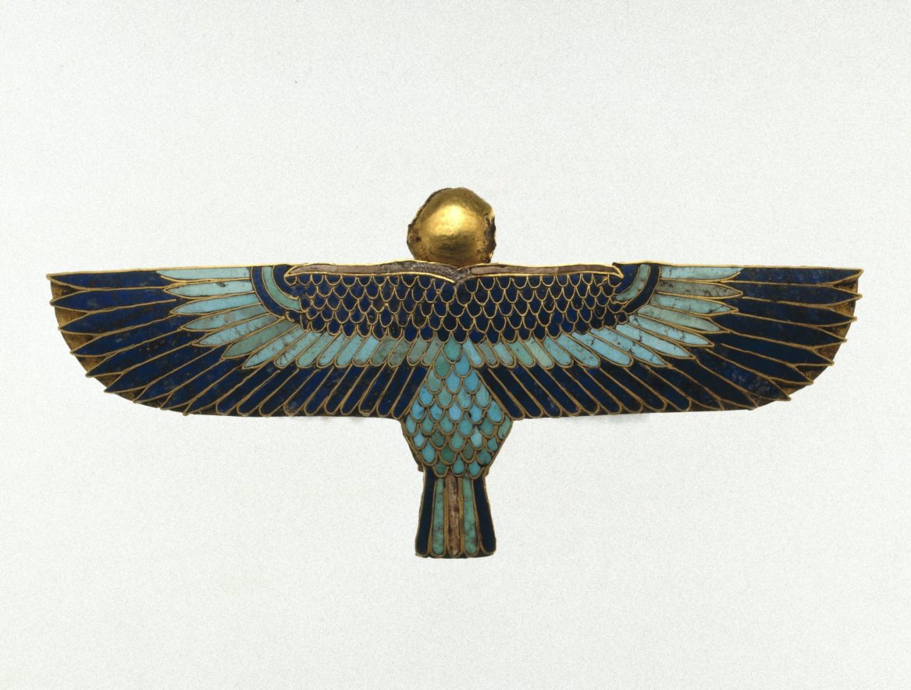 Amulet In The Form Of A Ba As Human Headed Bird Egyptian