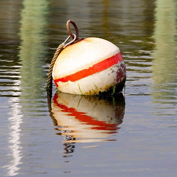 #buoy #reflection #bay #summer #smile #instagood