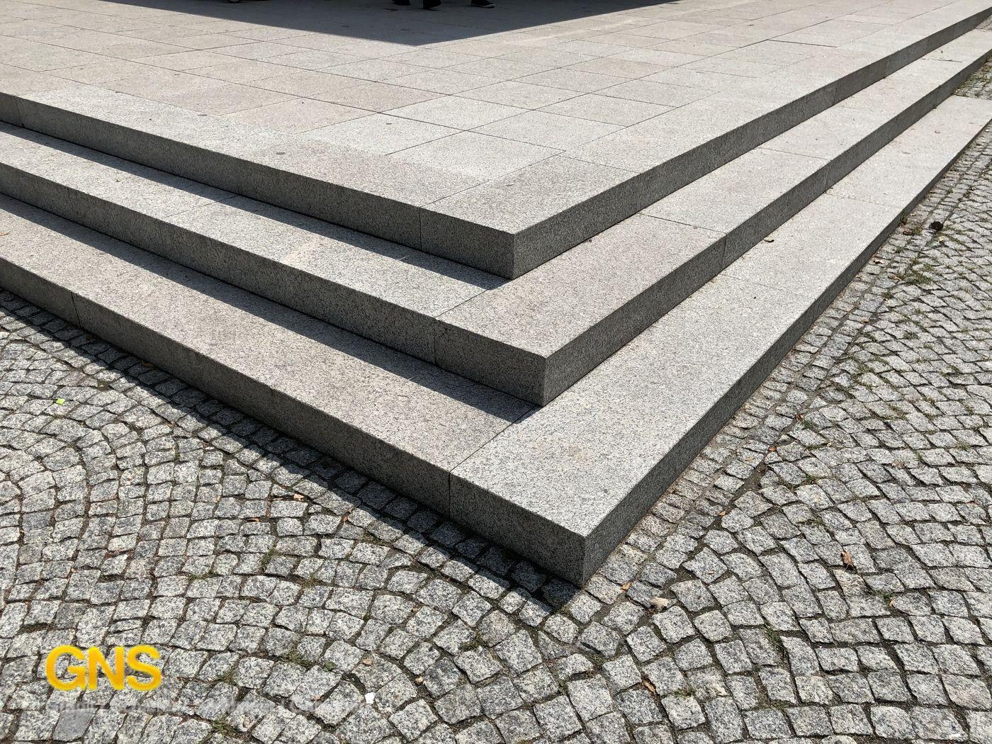 Granitplatten Einfahrt Terrassenplatten Grau Hellgrau Granitfliesen Granitplatten Terrassenplatten Grau