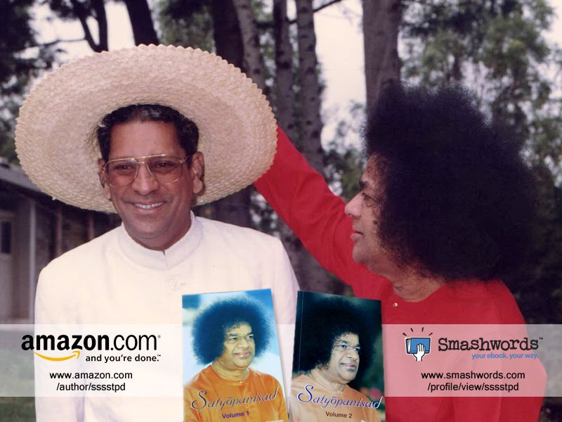 Prof. Anil Kumar brings to you Satyopanisad, Volumes 1 and 2. Both e-books are available via our e-commerce stores at www.amazon.com/author/sssstpd and www.smashwords.com/profile/view/sssstpd. Purchase your copies of Satyopanisad today!