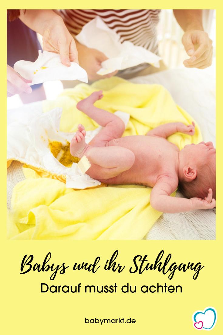 Alles Kacke Babys Ihr Stuhlgang Babymarktde Ratgeber Baby