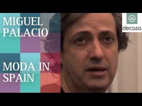 Diseñador de moda Miguel Palacio  | Moda in Spain