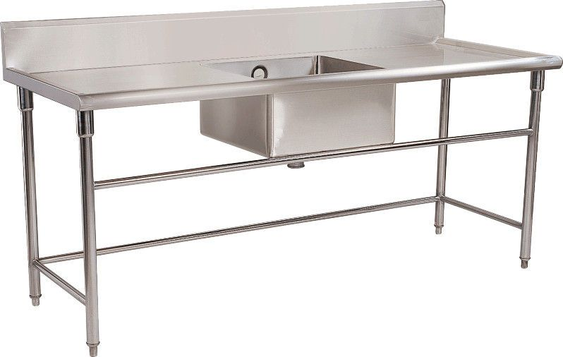 Commercial Kitchen Stainless Steel Tables Commercial Restaurant ...
