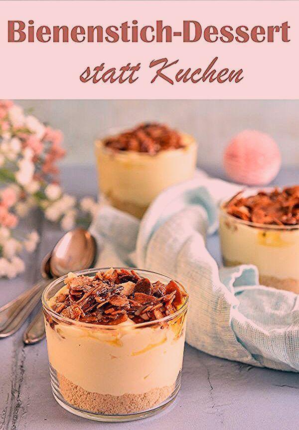 Photo of Bienenstich-Dessert. Mmmhhh…!