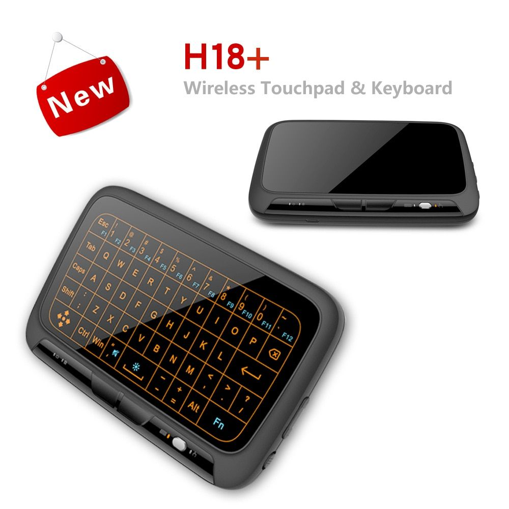 2018 New Mini 2 4G Mouse + Keyboard All In One Touch Control