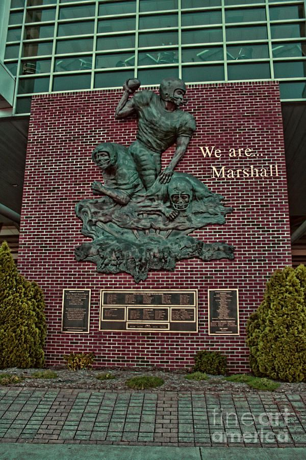 The Thundering Herd By Tommy Anderson In 2020 West Virginia Marshall University Football West Virginia Mountains