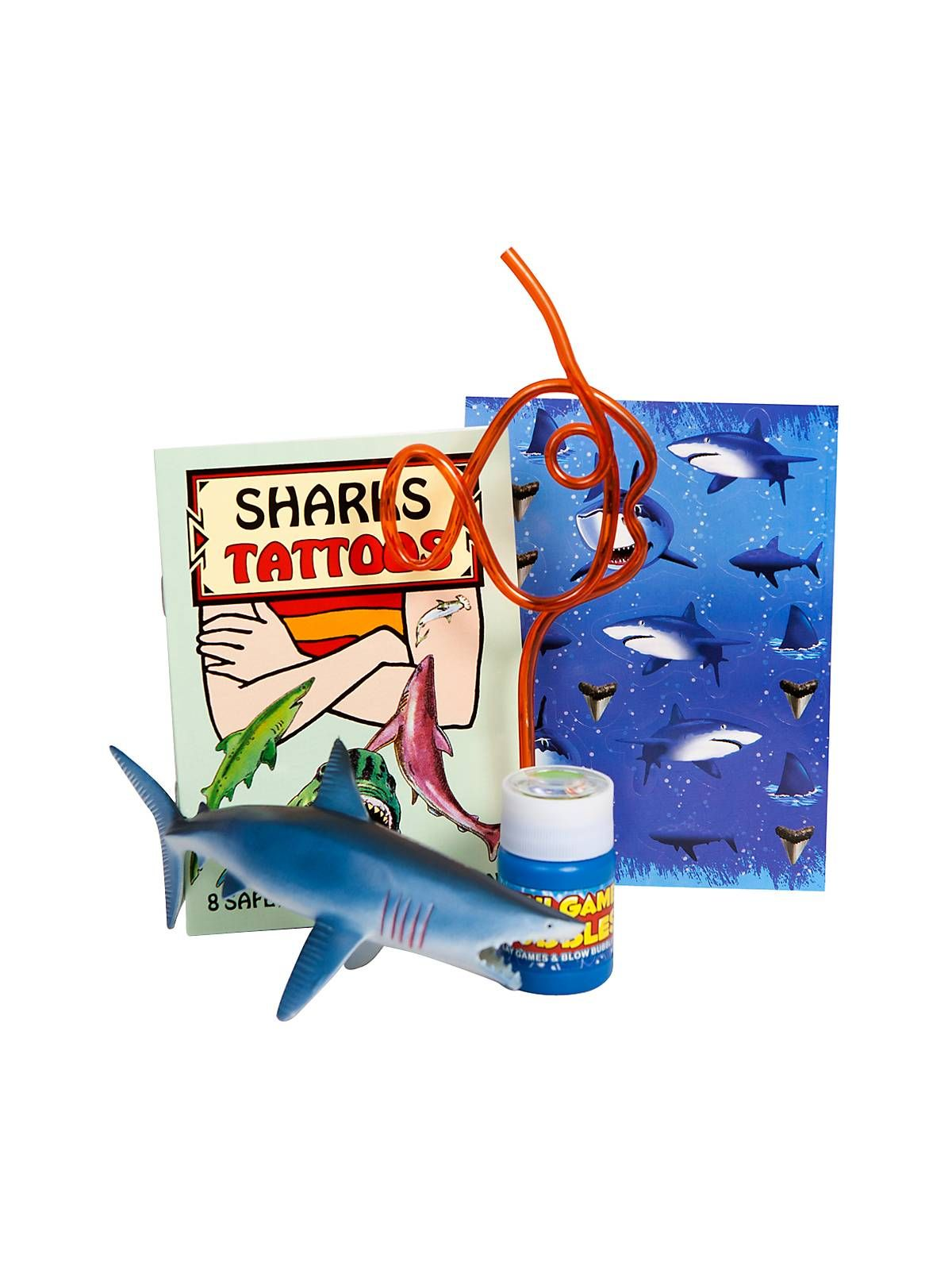 Shark Party Favor Kit (for 1 Guest)! See more birthday