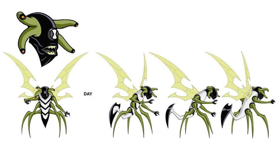 Concept Arts of Ben 10 by Dave Johnson | Creatures | Pinterest | Ben ...