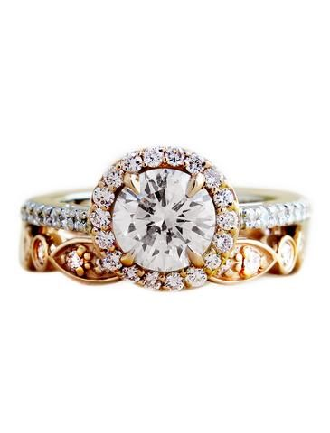 Watch Video in Gallery Below! *Choose from a selection of conflict free round diamonds—0.50 carat,...
