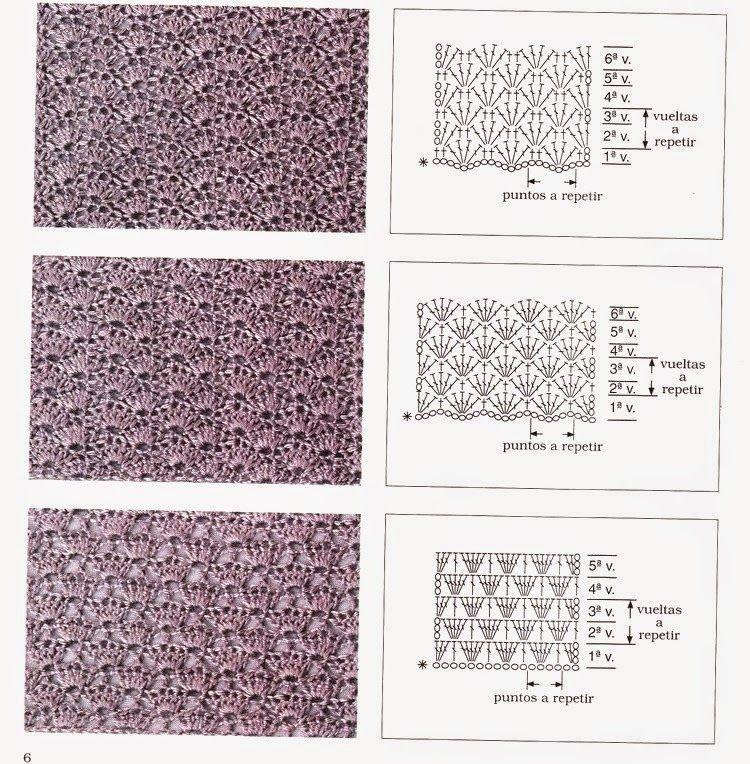 Схемы узоров по ручному вязанию