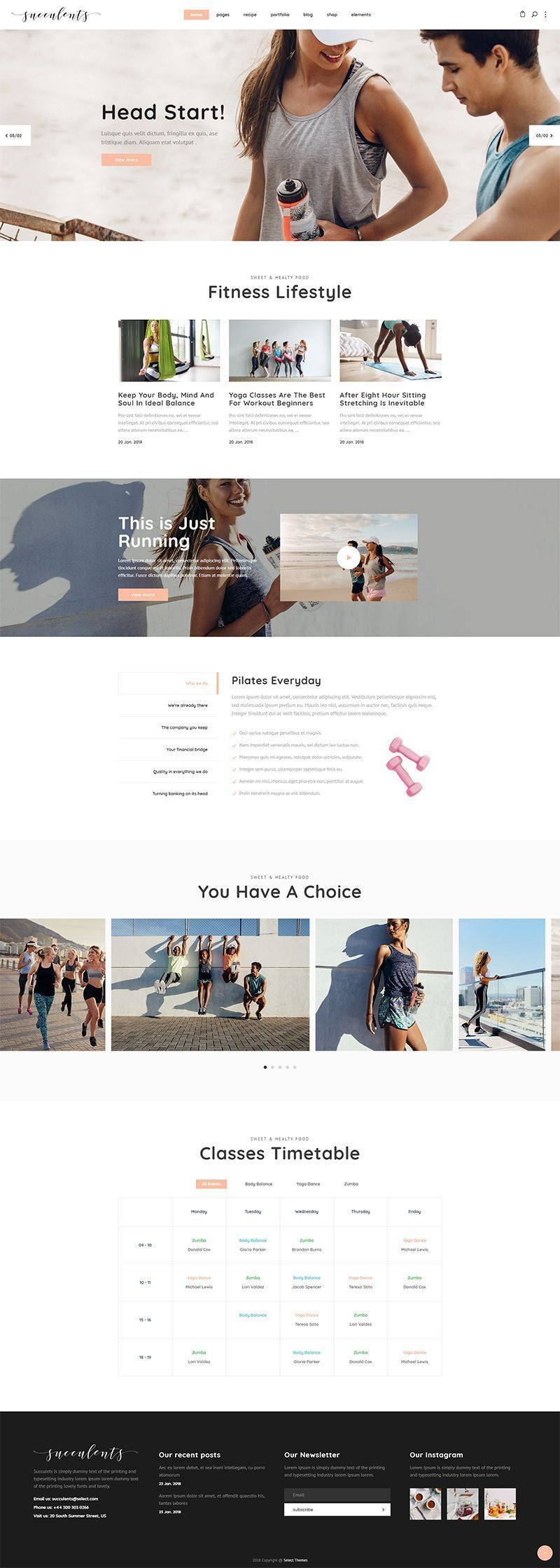 Succulents WordPress theme is packed with everything you'll need for creating an incredible healthy...