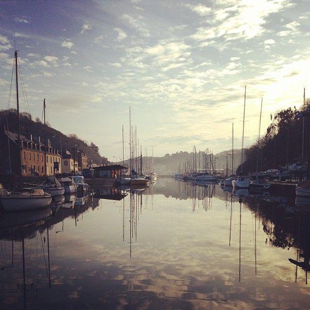 Saint-Brieuc – le port du Légué