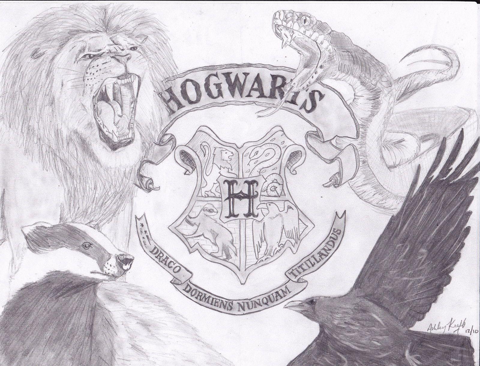 Hogwarts Crest Alive by on