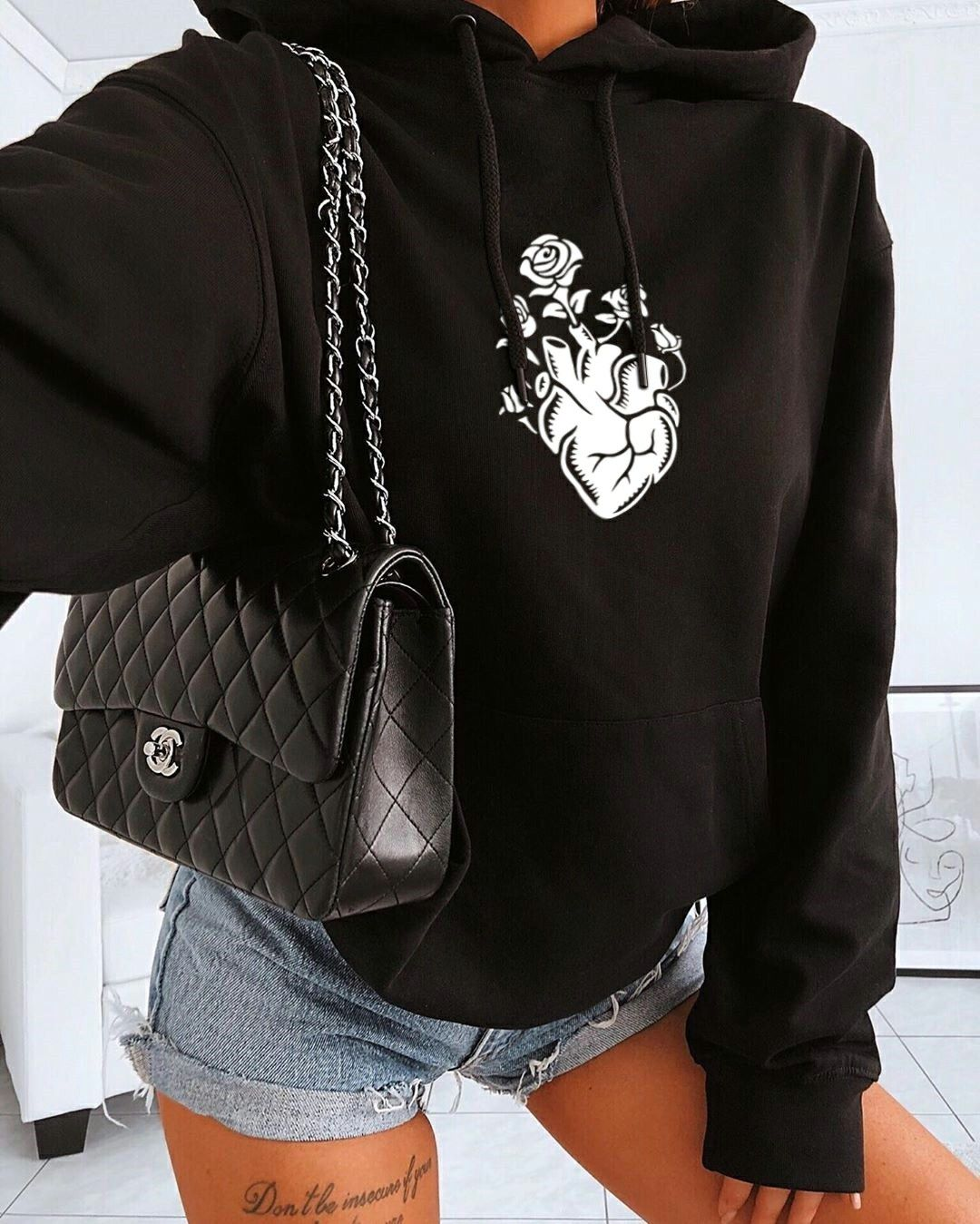 Most Popular Black Women's Hoodie For Fashion Style #teedesign