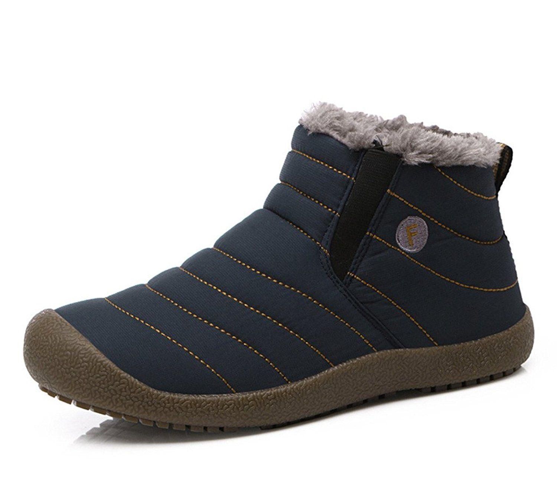 Anti-Slip Waterproof Ankle Snow Boots