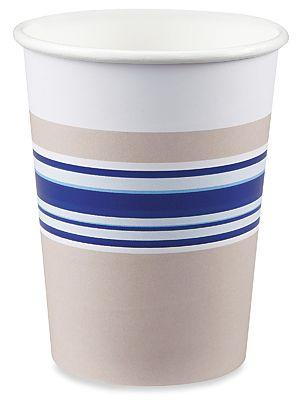 Uline Paper Hot Cups - 8 oz S-20104 - Uline