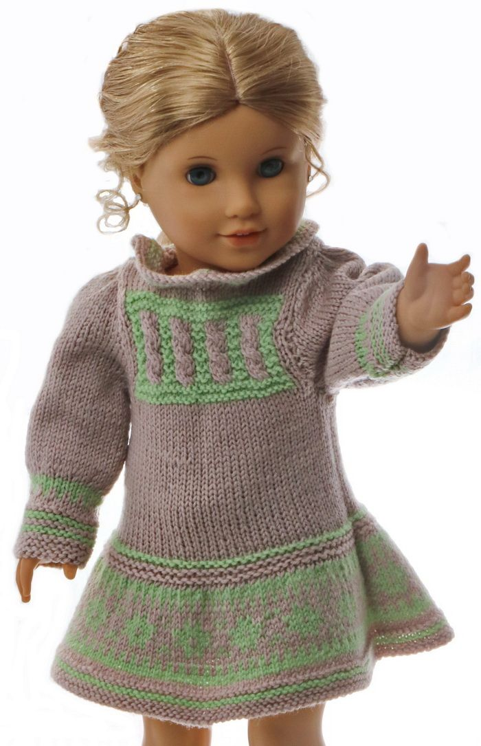 Patron vetement poupee | Knitting & Crochet for 18 inch dolls ...