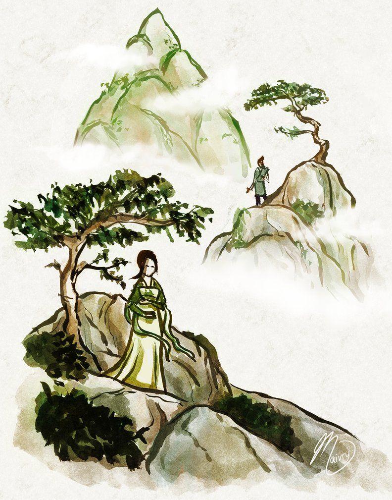 Tokka Month 2012: Legend by ~Maivry on deviantART
