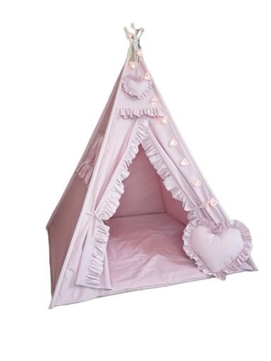 Tipi Namiot Domek Dla Dzieci Wigwam 100x100 9198825726 Oficjalne Archiwum Allegro Toddler Bed Toddler Home Decor