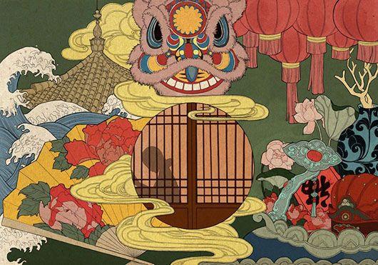 ARTIST: WangJia (王加) - Silky History #Yellowmenace
