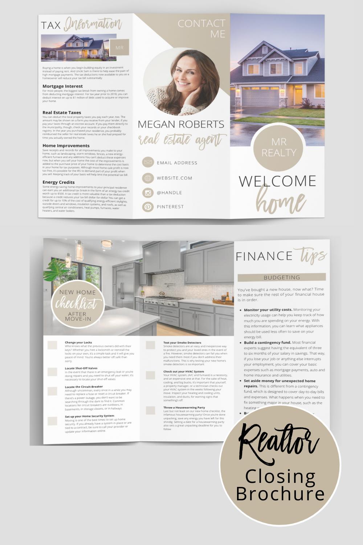 Real Estate Brochure Real Estate Brochures Real Estate Templates Real Estate Agent Flyer