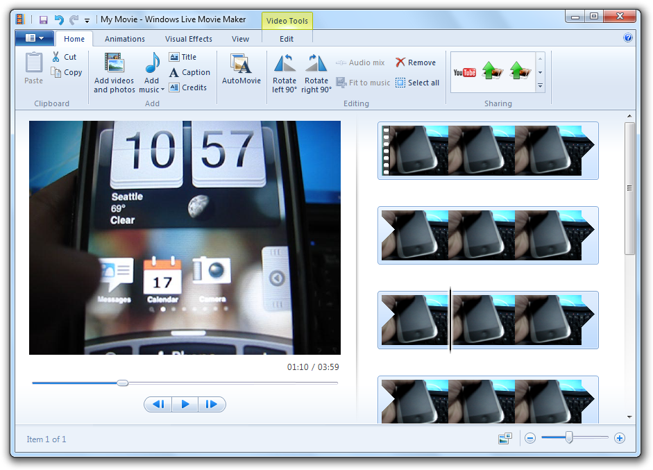Windows Live Movie Maker Is One Of The Coolest Features Of Any Operating System And Its Still Getting Along Well With Every New Windows Movie Maker Micro