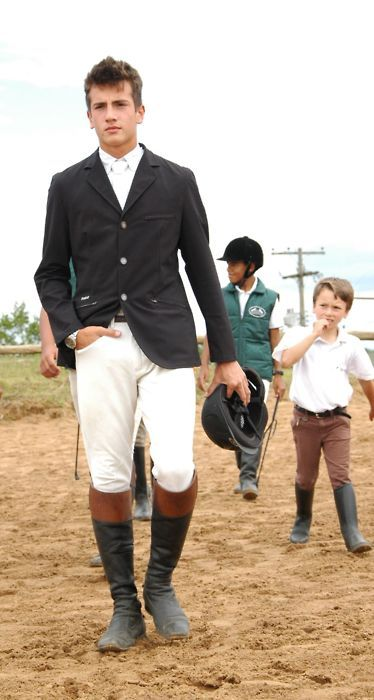 Equestrian - Style Love that little chap in the back! | Mens outfits, Mens  golf outfit, Sport outfits