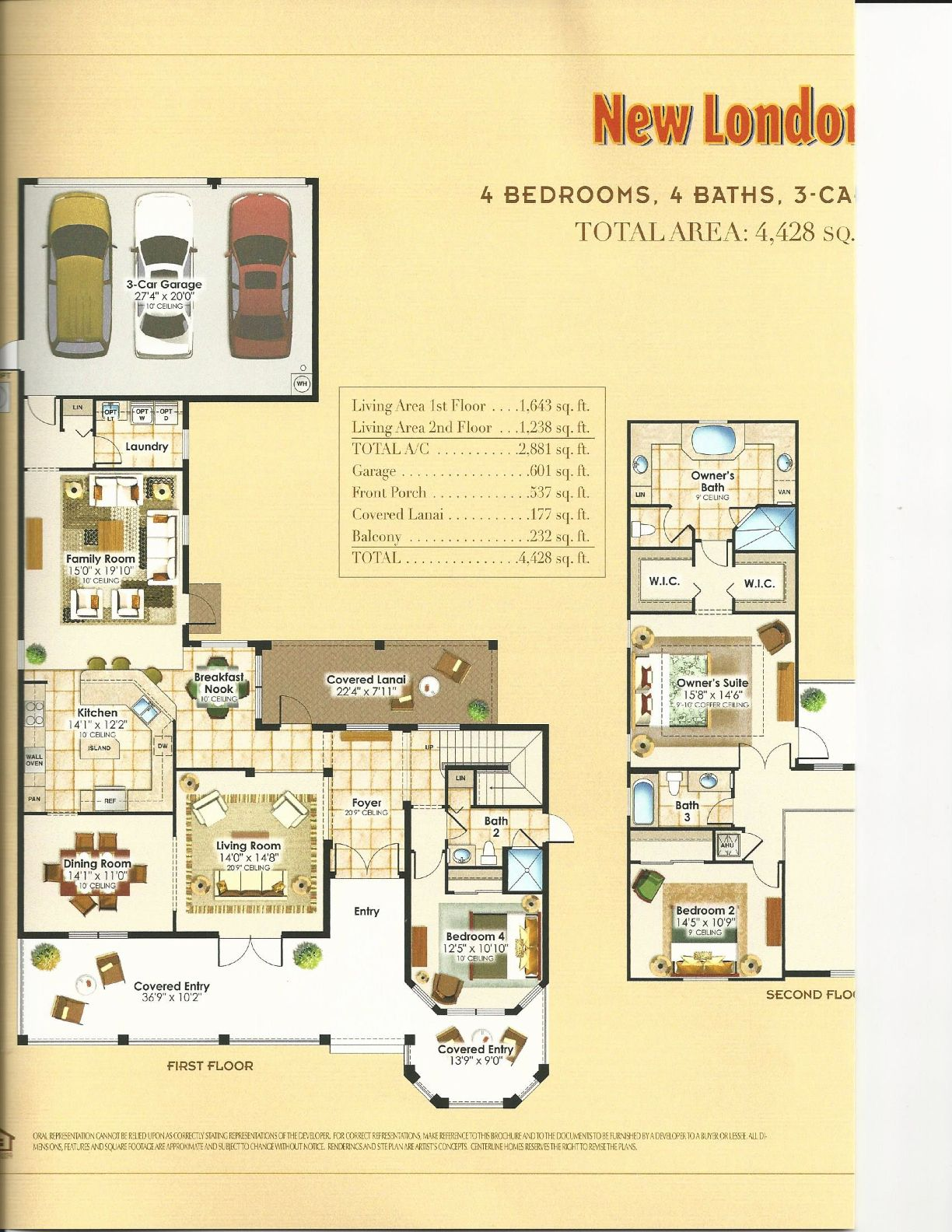 summerlake center line homes catalina collection new london first