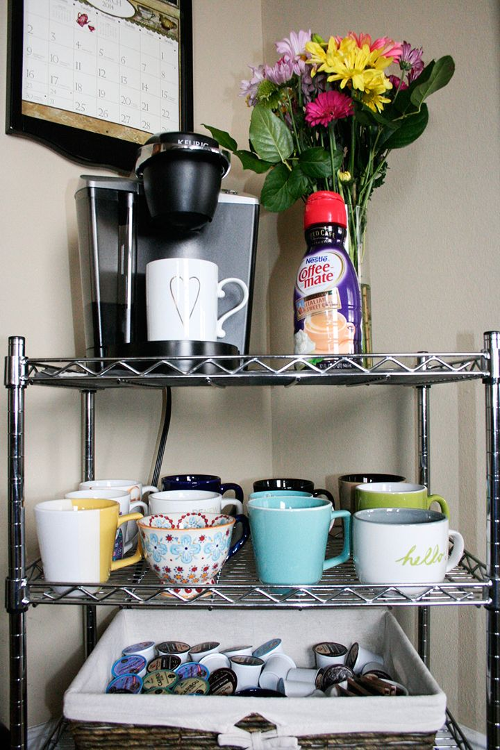 Coffee Cart Allthingseblog Com Home Coffee Stations Coffee Station Kitchen Cozy Dorm Room