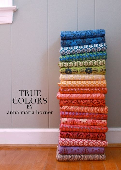 True Colors by Anna Maria Horner, gotta have this line, along with her new Dowry line.