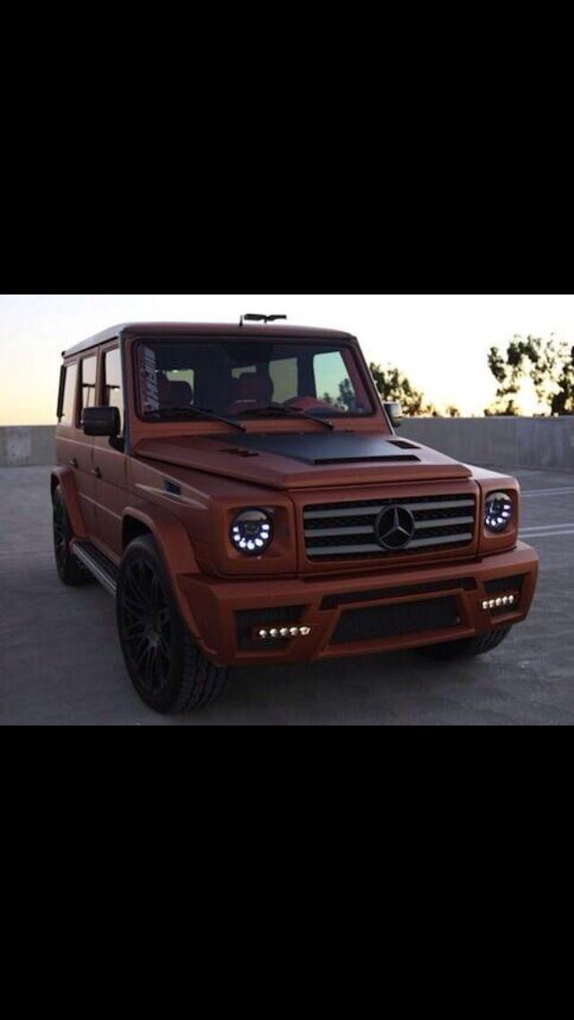 Matte Burgundy G Wagon Mercedes G Mercedes G Class G Wagon