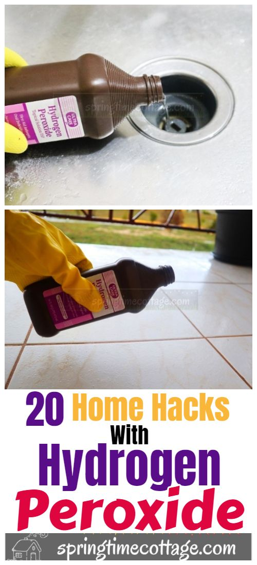How to clean your home with hydrogen peroxide