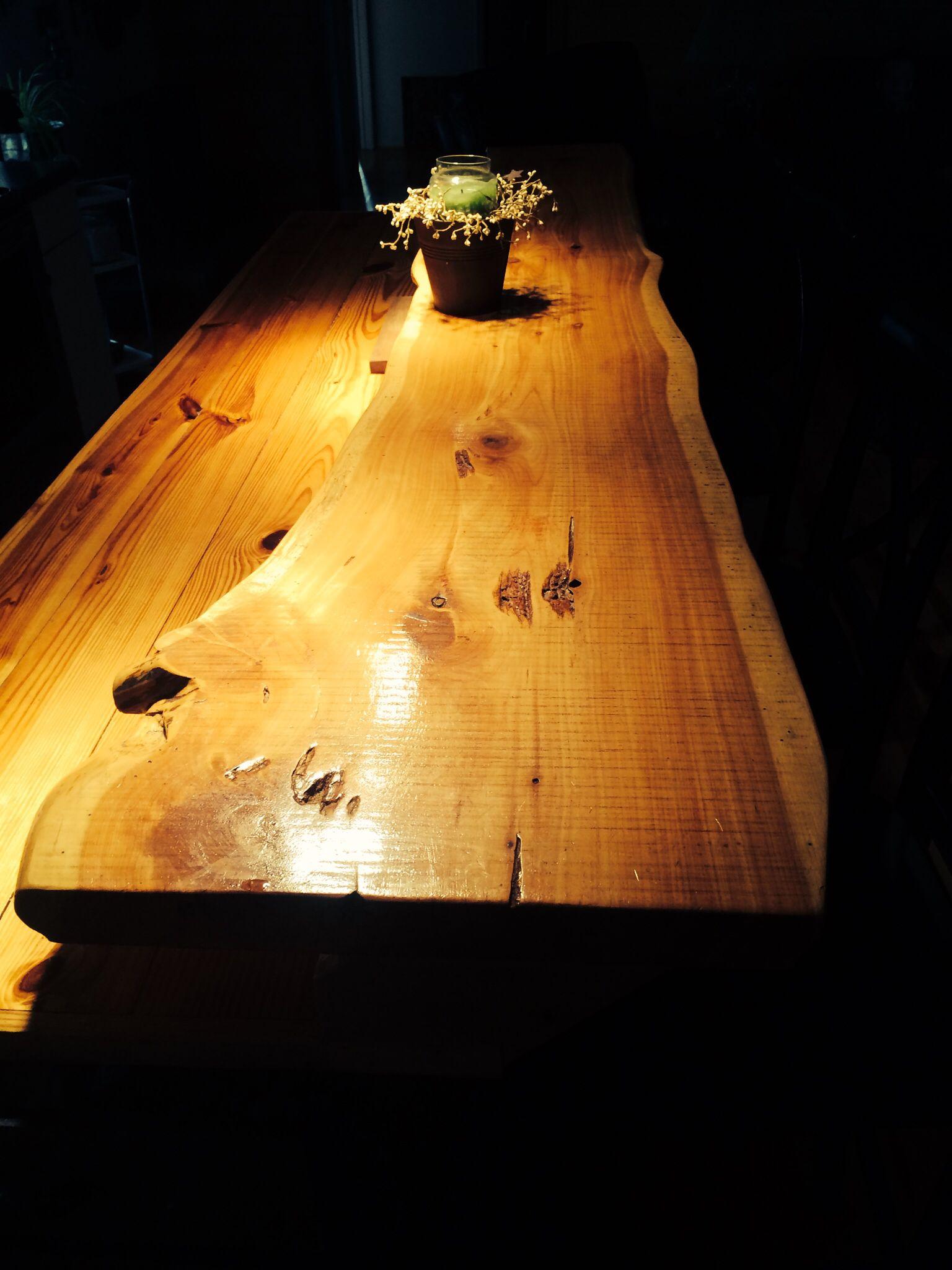 Red Cedar Bar Top Live Edge Slabs Wood Projects Wood