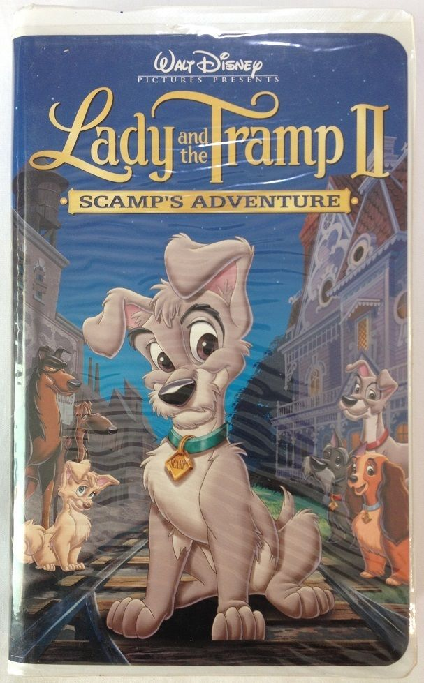 Lady And The Tramp Ii Scamp S Adventure Walt Disney Vhs 21226 Disney Lady And The Tramp Walt Disney Movies Adventure Movie