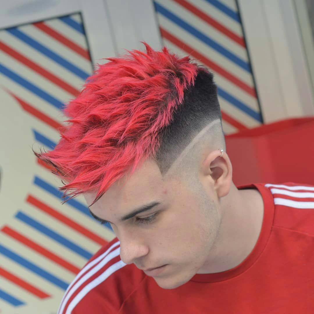 Mens Haircuts 2018 Differentstylesformenshaircuts Mens Hair Colour Cool Hair Color Dyed Hair Men