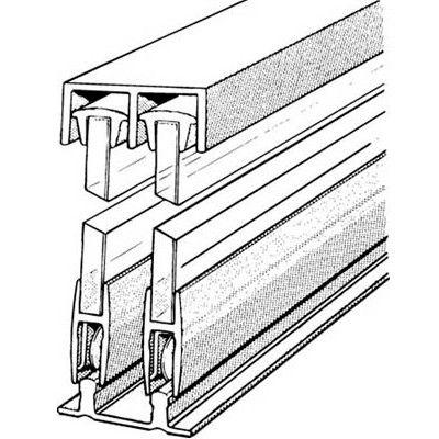 Sliding Kitchen Cabinet Door Hardware sliding glass door track $54 | diy crafts | pinterest | sliding