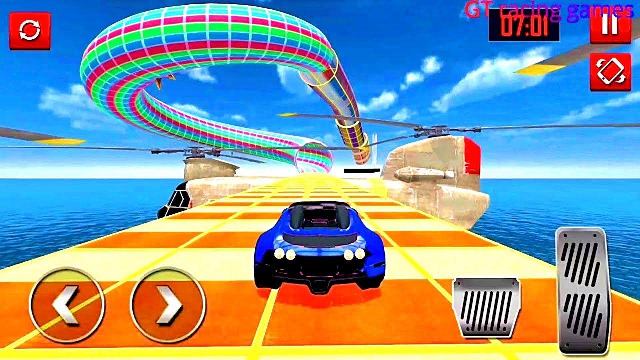 Mega Ramp Car Stunts Racing Impossible Tracks 3d 2 Android