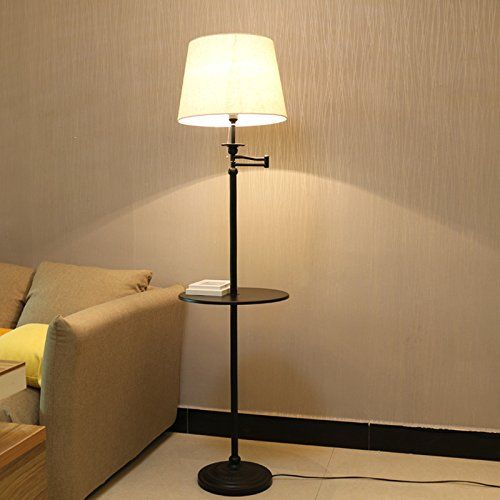 Swing Arm Floor Lamp By Kshioe Portable Floor Lamp With Metal