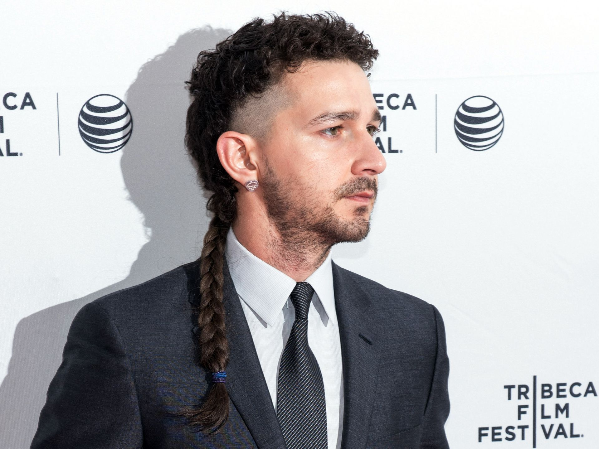 It has to be said Shia LaBeouf's look is just not working