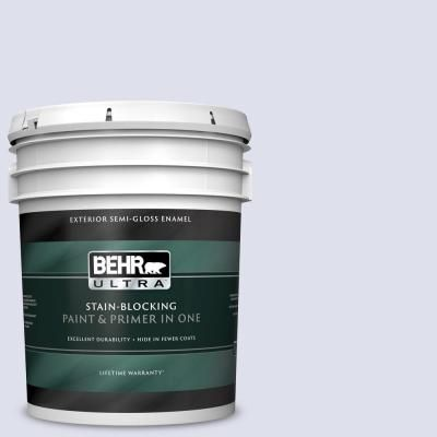 Behr Ultra 5 Gal 600a 1 December Dawn Semi Gloss Enamel Exterior Paint And Primer In One Interior Paint Behr Exterior Paint