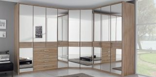 Rauch Elan D Folding Door Wardrobe Horizontal Decor Overlay With