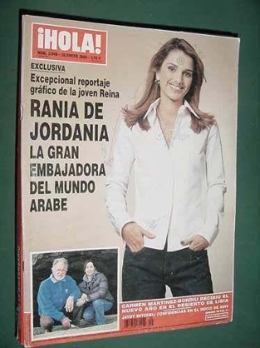 Revista Hola 3049 Reina Rania Jordania Belmondo Mitchel - $ 45,92