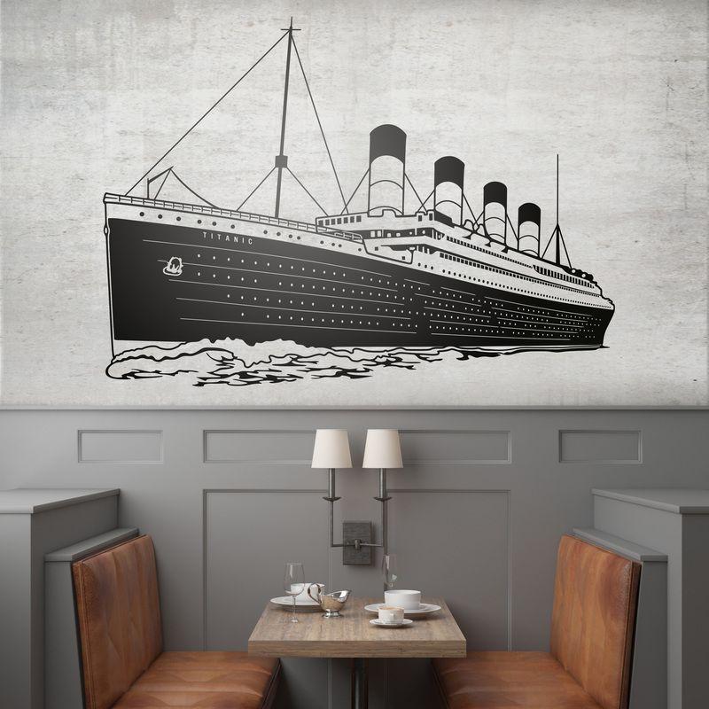 Titanic - VINILOS DECORATIVOS #teleadhesivo #decoracion #titanic