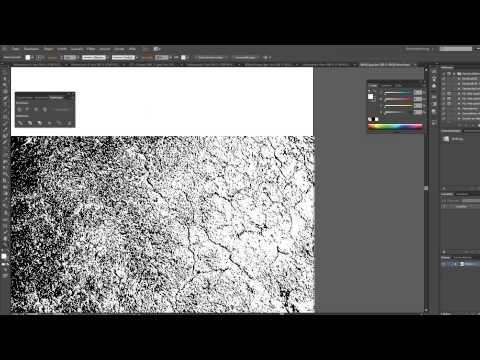 tutorial grunge muster x2f pattern in illustrator vektor erstellen youtube glühbirne welle