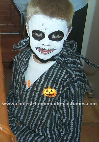 coolest homemade jack skellington costume ideas - Halloween Jack Costume