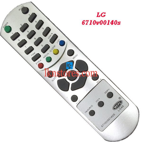Buy remote suitable for LG Tv Model: 6710V00140S at lowest price at LKNstores.com. Online's Prestigious buyers store.
